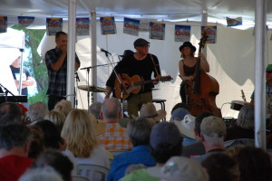 Performing at Mariposa Folk Festival - July 2014