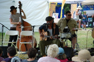 Performing at Mariposa Folk Festival – July 2014