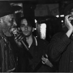 Sugar Brown, Taildragger, Rockin' Johnny Burgin summer 1994 — at 5105 Club.